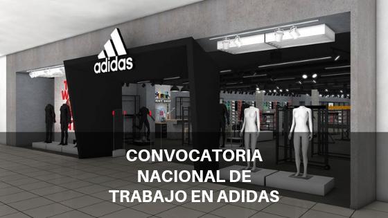 Estas son las mejores vacantes que Adidas puede ofrecerte